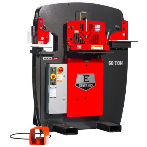 60 Ton New Edwards Ironworker for sale at Worldwide Machine Tool