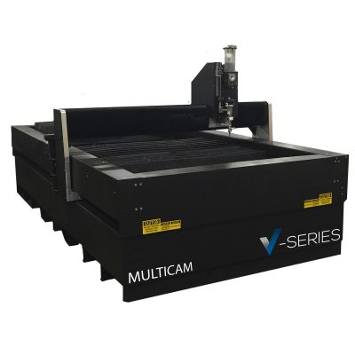 Multicam V-Series CNC Water Jet Cutting Machine