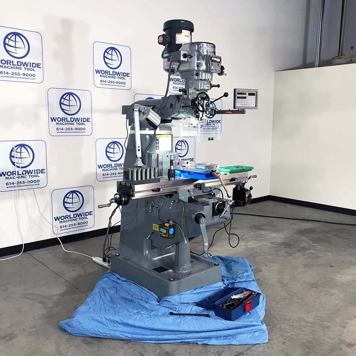 New Bridgeport Mill For sale at Worldwide Machine Tool