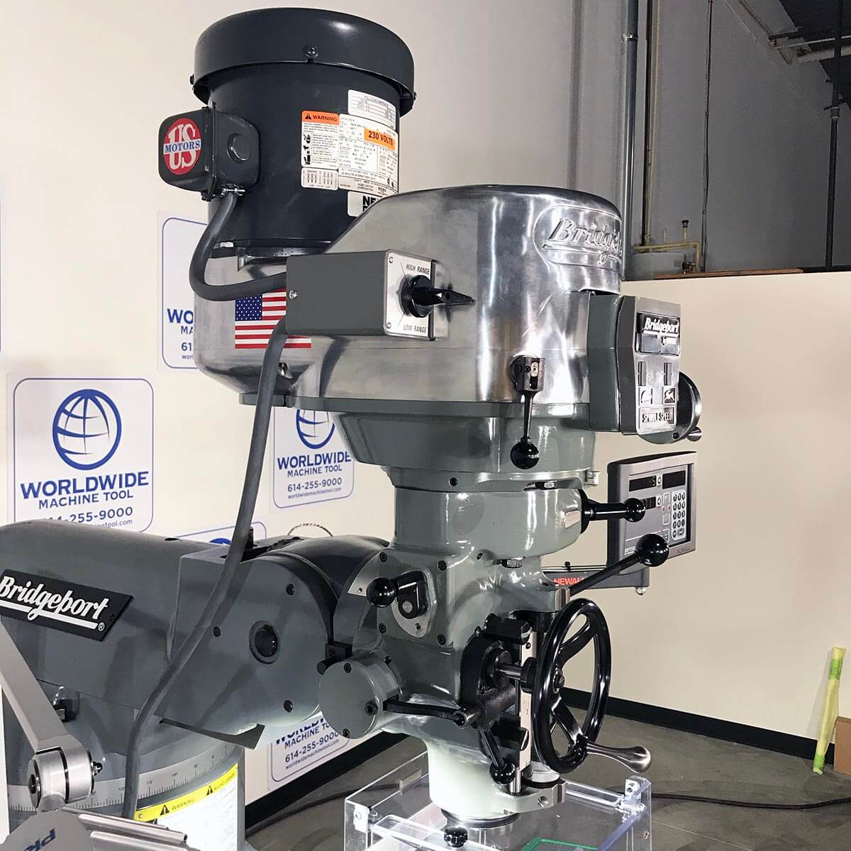 New Bridgeport Mill Series 1 for sale at Worldwide Machine Tool
