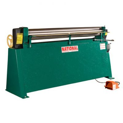 4' x 16g New National Sheet Metal Roll Model NR-4816 for sale