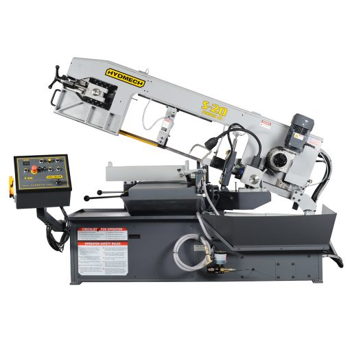 New Hyd-Mech S-20 horizontal bandsaw for sale