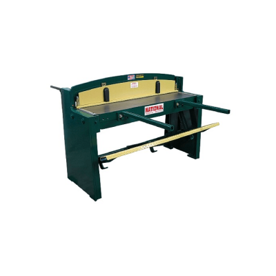 "52"" x 16 Gauge National Foot Shear"