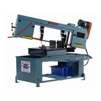 New Roll-in horizontal band saw for sale model 1418 at Worldwide Machine Tool