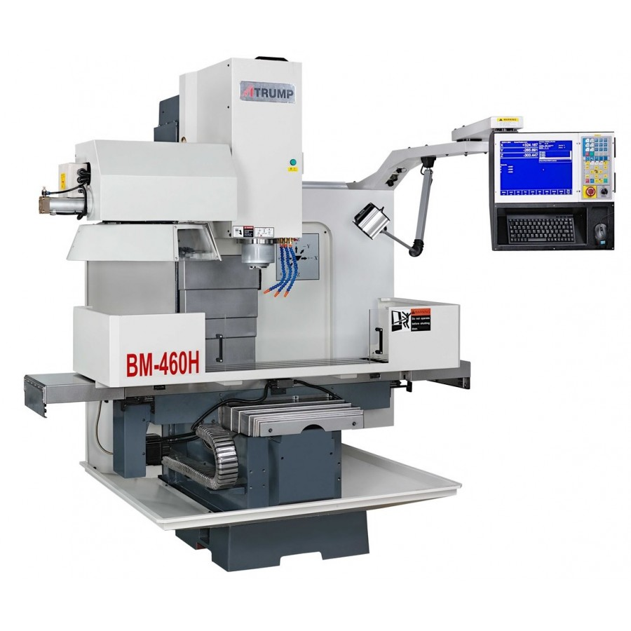 Atrump CNC bed mill model BM-460H for sale at Worldwide Machine Tool