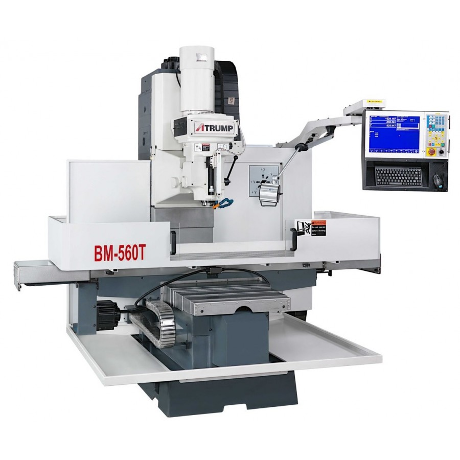 Atrump CNC bed mill for sale model BM-560T at Worldwide Machine Tool