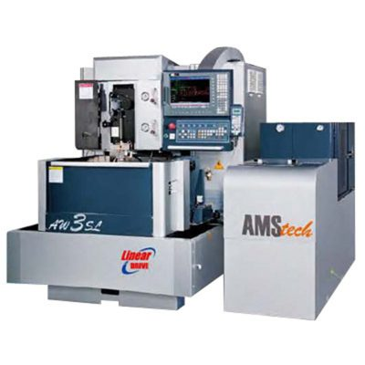 AMS-TECH AW3S CNC LINEAR WIRE EDM MACHINE