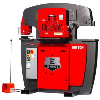 100 Ton New Edwards Ironworker