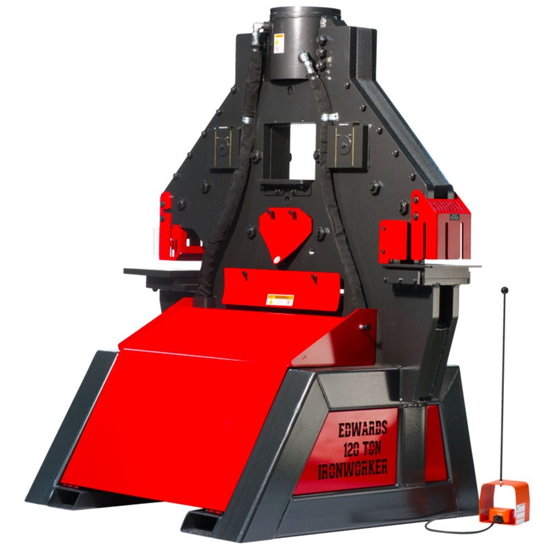 New Edwards Ironworker 120 Ton Available at Worldwide Machine Tool
