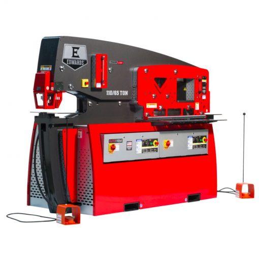 110 / 65 Ton New Edwards ELITE Dual Operator Ironworker