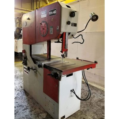 "40"" Used Dake Hydraulic Vertical Bandsaw for sale at Worldwide"