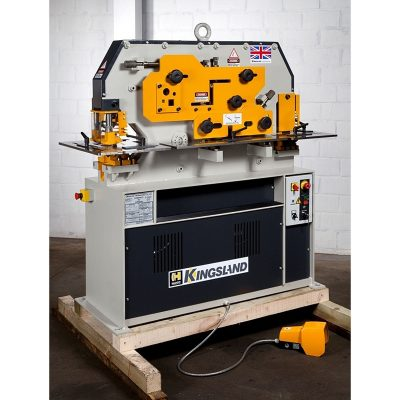 50 Ton New Kingsland Ironworker Model Compact 50