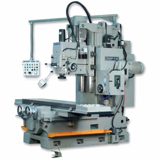 "20"" x 87"" New Sharp Horizontal Vertical Mill Model KMA-3H"