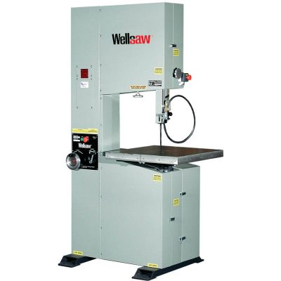 New Wellsaw vertical band saw for sale V20 at Worldwide Machine Tool