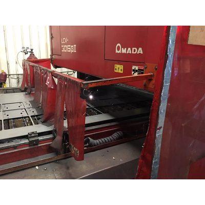 2000 Watt Used Amada Laser Cutting Machine Model LCV3015 BII for sale