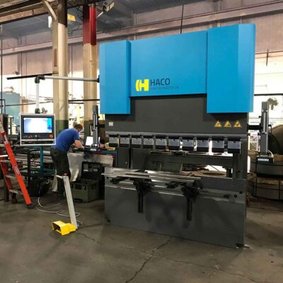 New Haco Atlantic CNC Synchromaster press brake