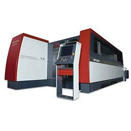Laser cutting system. Laser cutting machine tools. CNC metal laser cutting.