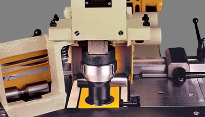 Punching equipment up to Ø 1 7/16x5/16