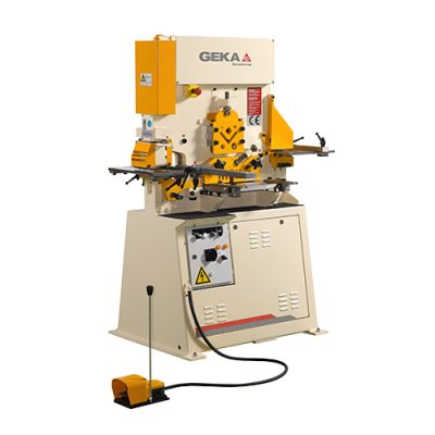 55 Ton New Geka Ironworker Single Cylinder Model Bendicrop 50 for sale