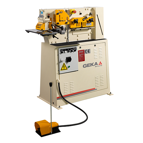 New Geka Ironworker One Cylinder Model Microcrop