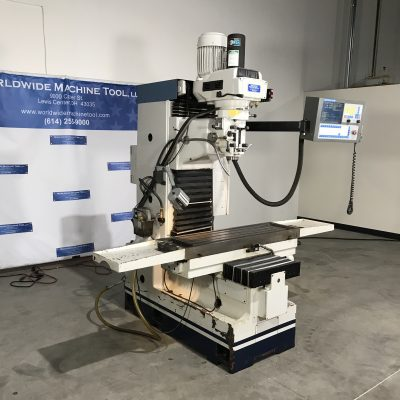 "13"" x 46"" Used Millport CNC Vertical Milling Machine Model Rhino for sale at Worldwide Machine Tool"