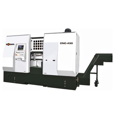 "16.5"" x 17"" New Cosen Automatic Horizontal Bandsaw Model CNC-430 for sale"
