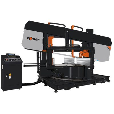 "26"" x 43.3"" New Cosen Horizontal Band Saw Model SH-1100LDM for sale"