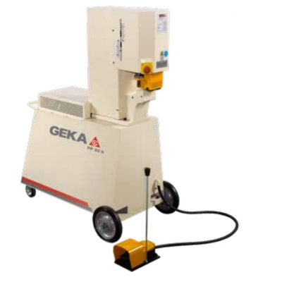 55 Ton New Geka Ironworker Model PP50 G