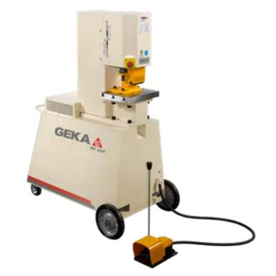 55 Ton New Geka Ironworker Model PP50 P
