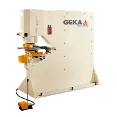 120 Ton New Geka Ironworker Model Puma 110 for sale
