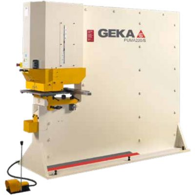 245 Ton New Geka Ironworker Model Puma 220 for sale.