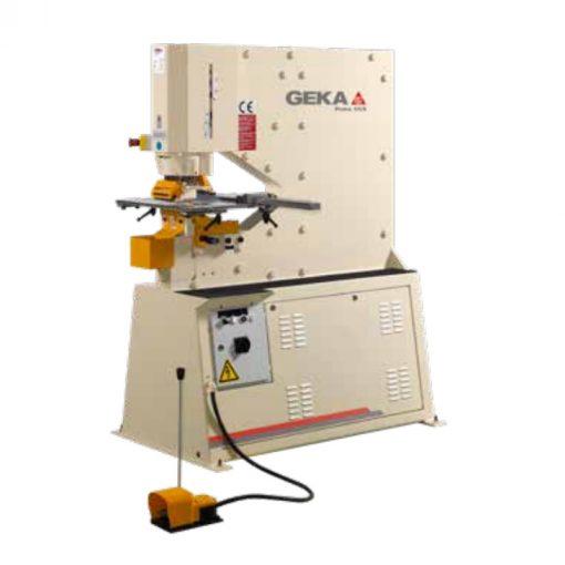 60 Ton New Geka Ironworker Model Puma 55 for sale at Worldwide Machine Tool