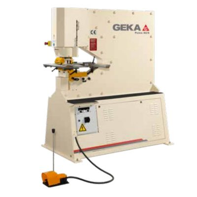88 Ton New Geka Ironworker Model Puma 80 for sale at Worldwide Machine Tool