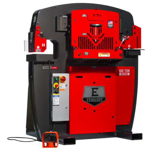 100 Ton Deluxe New Edwards Ironworker for sale