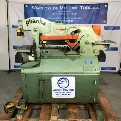 50 Ton Used Piranha Ironworker Model P-50 for sale at worldwide