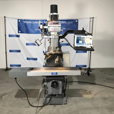 "10""x 54"" Used Atrump CNC Mill Model K3VLC for sale at Worldwide Machine Tool"