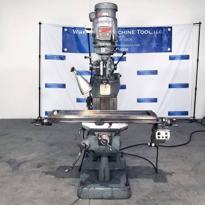 """9"""" x 42"""" Used Bridgeport Mill for sale at Worldwide Machine Tool"""