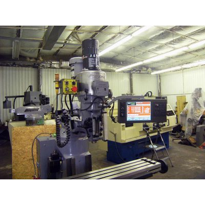 "9"" x 48"" Used Bridgeport Mill with EZ Track CNC System for sale at Worldwide Machine Tool"