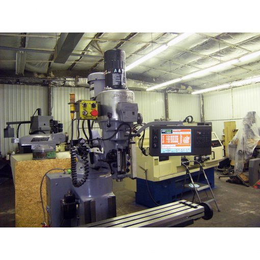 """9"""" x 48"""" Used Bridgeport Mill with EZ Track CNC System for sale at Worldwide Machine Tool"""
