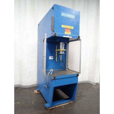 Denison Gap Frame Hydraulic Press Model FMS-75 for sale at Worldwide Machine Tool