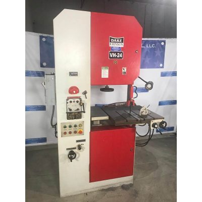 """24"""" Used Dake Vertical Band Saw Hydraulic Table Model VH-24 for sale at Worldwide Machine Tool"""