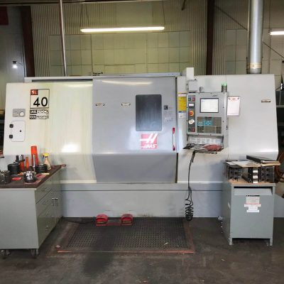 Used Haas CNC Lathe Model SL40 Slant Bed for sale at Worldwide Machine Tool