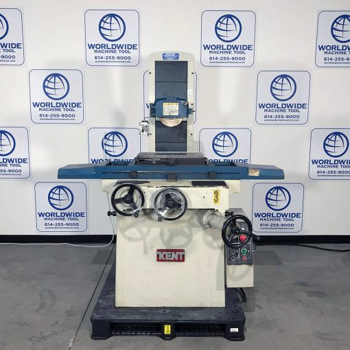 """8"""" x 18"""" Used Kent Surface Grinder Model KGS-250M for sale at Worldwide Machine Tool"""