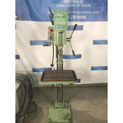 "20"" Used Solberga Geared Head Drill Press Model 2025 for sale at Worldwide Machine Tool"