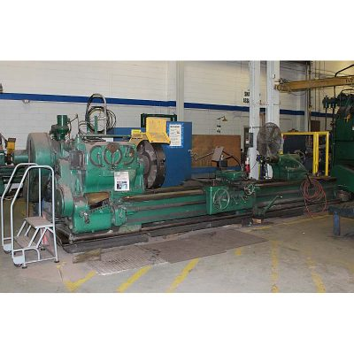 Used American Super Heavy Duty Engine Lathe