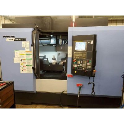 Used Doosan 5 Axis Vertical Machining Center for sale at Worldwide Machine Tool