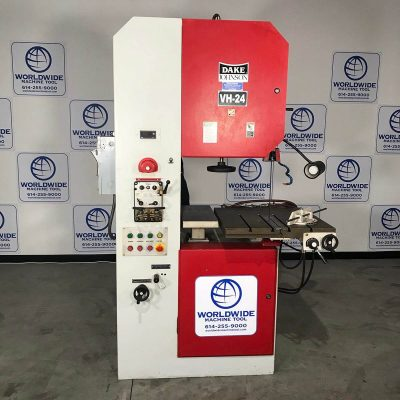 "24"" Used Dake Hydraulic Vertical Band Saw Model VH-24H for sale"