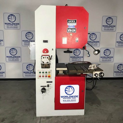 """24"""" Used Dake Hydraulic Vertical Band Saw Model VH-24H for sale"""