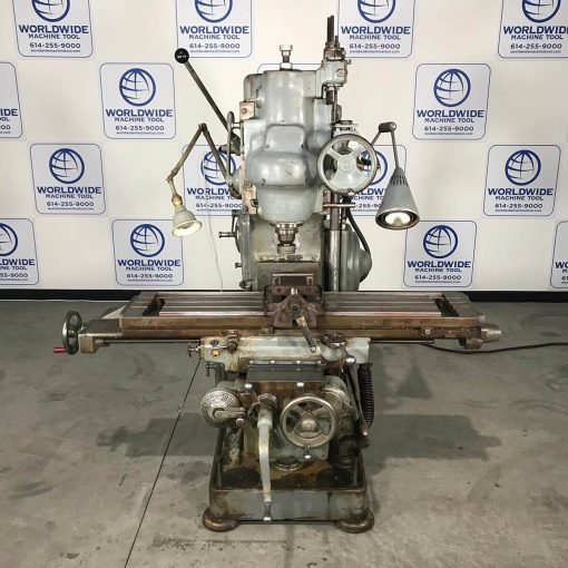 """12"""" x 50"""" Kearney and Trecker Vertical Mill Model 2CH for sale"""