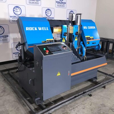 """12"""" x 12"""" New Rockwell Horizontal Band Saw Fully Automatic Model RS-320SK"""